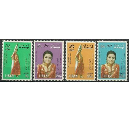Znaczek Liban 1974 Mi 1232-1235 Czyste **