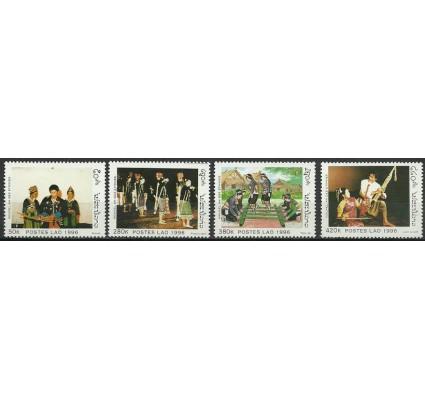 Znaczek Laos 1996 Mi 1494-1497 Czyste **