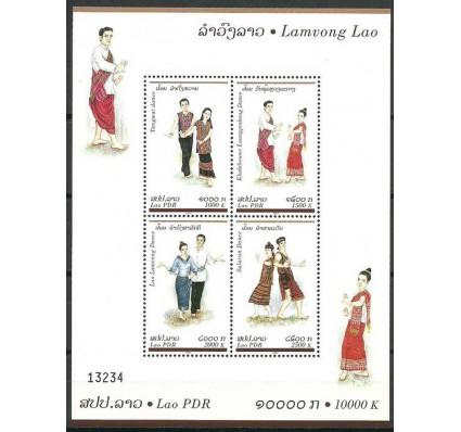 Znaczek Laos 2004 Mi bl 193C Czyste **