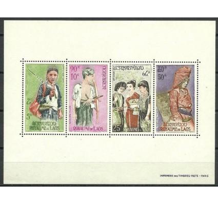 Znaczek Laos 1964 Mi bl 36 Czyste **