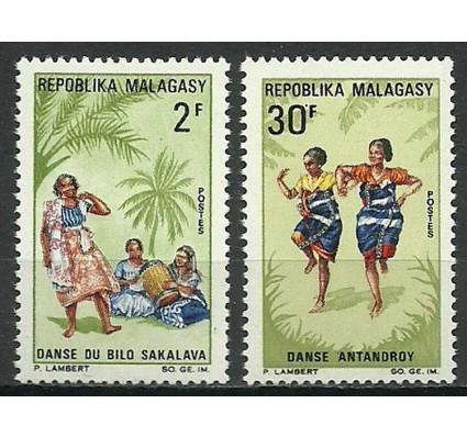 Znaczek Madagaskar 1967 Mi 573-574 Czyste **