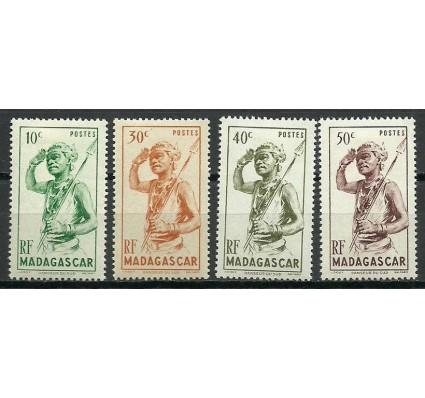 Znaczek Madagaskar 1946 Mi 387-390 Czyste **