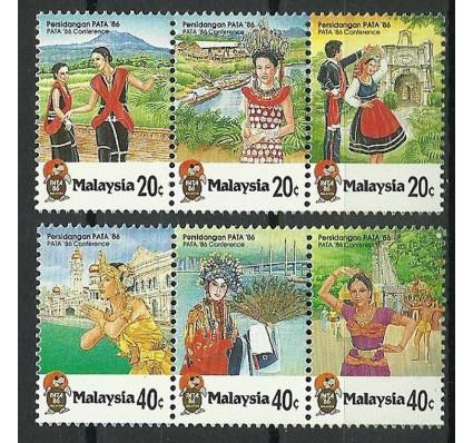 Znaczek Malezja 1986 Mi 321-326 Czyste **