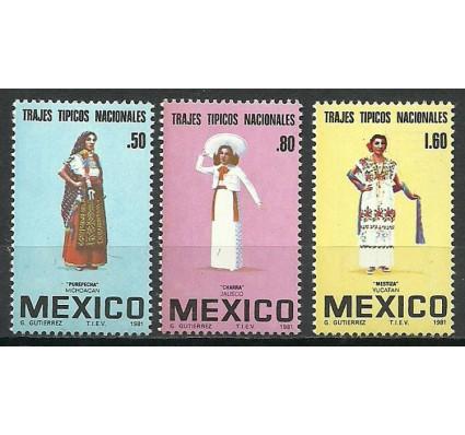 Znaczek Meksyk 1981 Mi 1744-1746 Czyste **