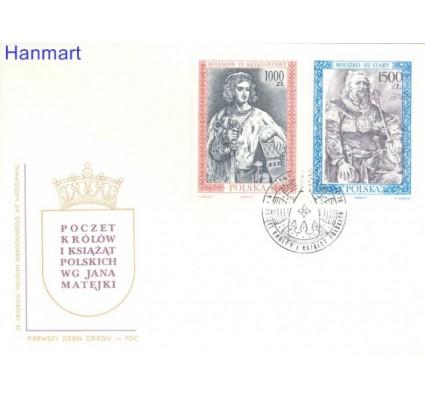 Znaczek Polska 1991 Mi 3326-3327 Fi 3178-3179 FDC