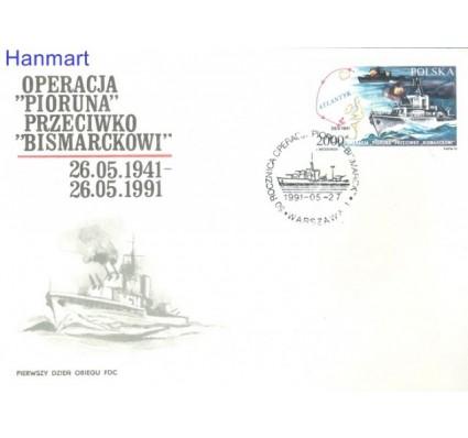 Znaczek Polska 1991 Mi 3332 Fi 3184 FDC