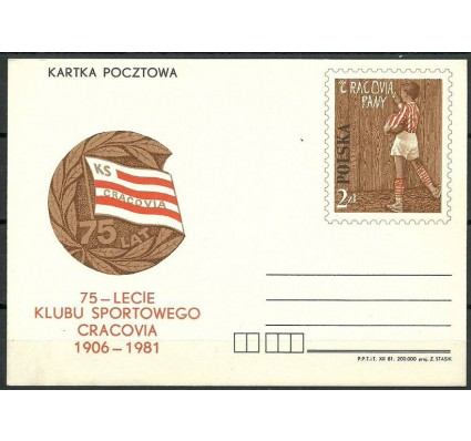Znaczek Polska 1982 Fi Cp 806 Całostka pocztowa