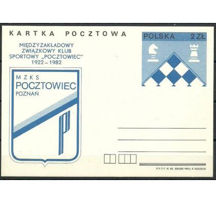 Znaczek Polska 1982 Fi Cp 808 Całostka pocztowa
