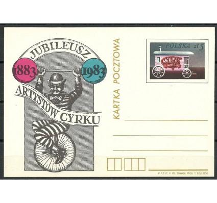 Znaczek Polska 1983 Fi Cp 828 Całostka pocztowa