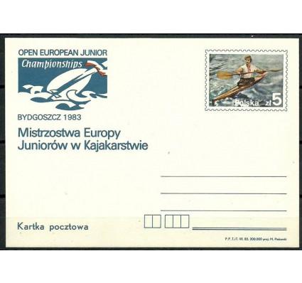 Znaczek Polska 1983 Fi Cp 840 Całostka pocztowa
