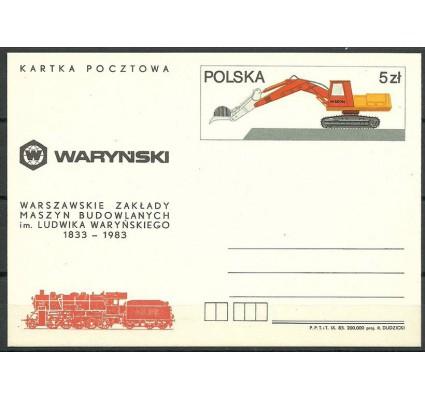 Znaczek Polska 1983 Fi Cp 846 Całostka pocztowa