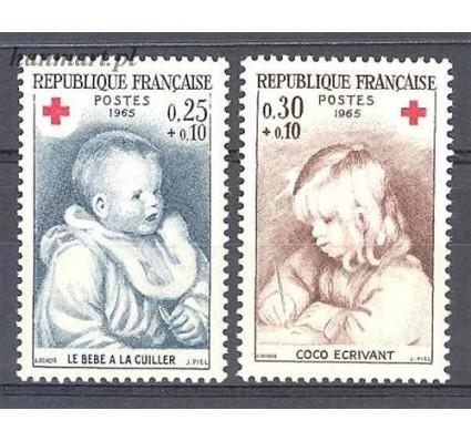 Znaczek Francja 1965 Mi 1532-1533 Czyste **