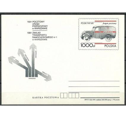 Znaczek Polska 1991 Fi Cp 1020 Całostka pocztowa