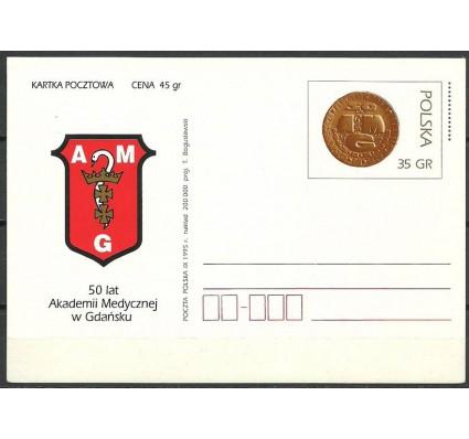 Znaczek Polska 1995 Fi Cp 1101 Całostka pocztowa