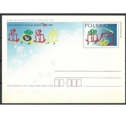 Znaczek Polska 1995 Fi Cp 1105 Całostka pocztowa