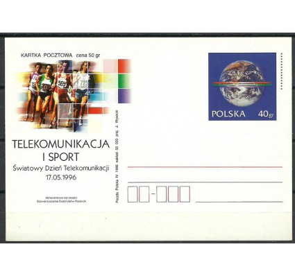 Znaczek Polska 1996 Fi Cp 1116 Całostka pocztowa