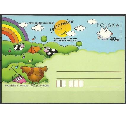 Znaczek Polska 1996 Fi Cp 1119 Całostka pocztowa