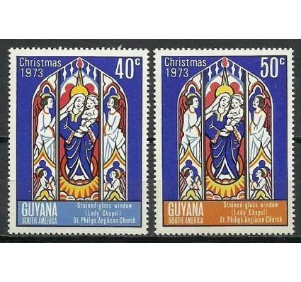 Znaczek Gujana 1973 Mi 449-450 Czyste **
