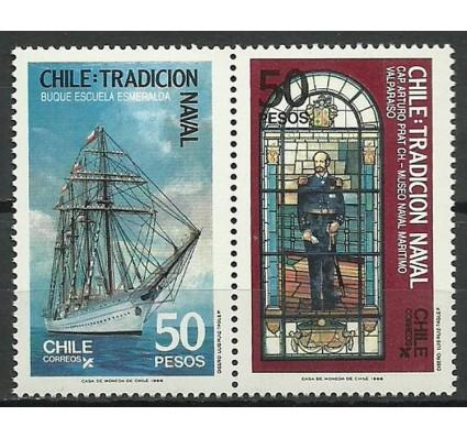 Znaczek Chile 1988 Mi 1231-1232 Czyste **
