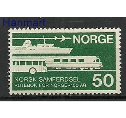 Znaczek Norwegia 1969 Mi 581 Czyste **
