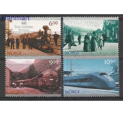 Znaczek Norwegia 2004 Mi 1507-1510 Czyste **