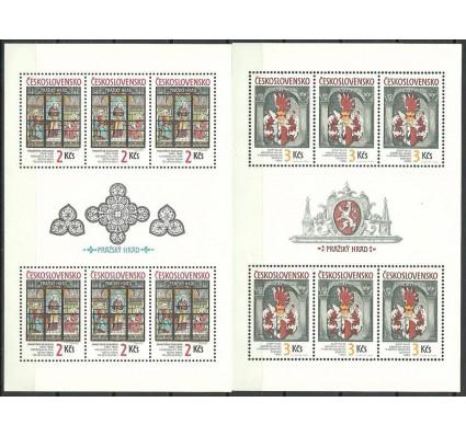 Znaczek Czechosłowacja 1987 Mi ark 2909-2910 Czyste **
