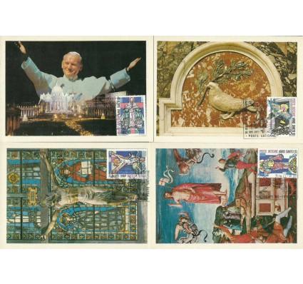 Znaczek Watykan 1983 Mi 816-819 Karta Max
