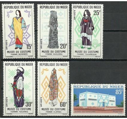 Znaczek Niger 1963 Mi 46-51 Czyste **