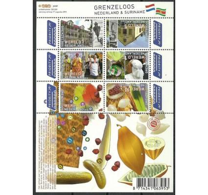 Znaczek Holandia 2010 Mi bl 131 Czyste **