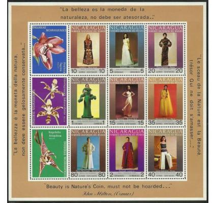 Znaczek Nikaragua 1973 Mi bl 75 Czyste **