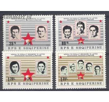 Znaczek Albania 1980 Mi 2051-2054 Czyste **