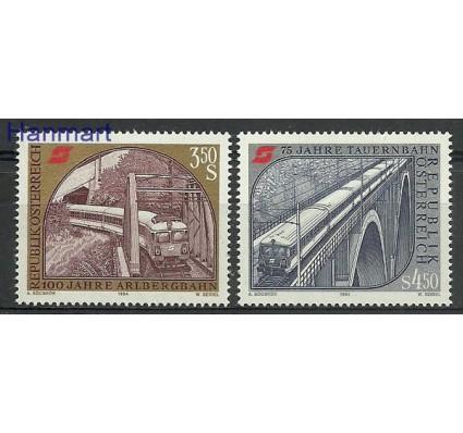 Znaczek Austria 1984 Mi 1785-1786 Czyste **