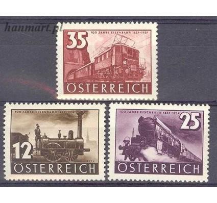 Znaczek Austria 1937 Mi 646-648 Czyste **