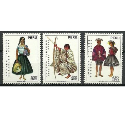 Znaczek Peru 1972 Mi 872-874 Czyste **