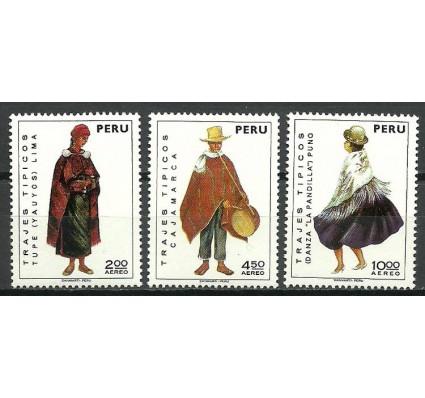 Znaczek Peru 1973 Mi 907-909 Czyste **