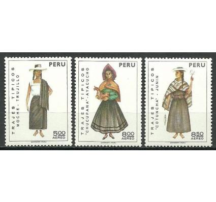 Znaczek Peru 1973 Mi 936-938 Czyste **