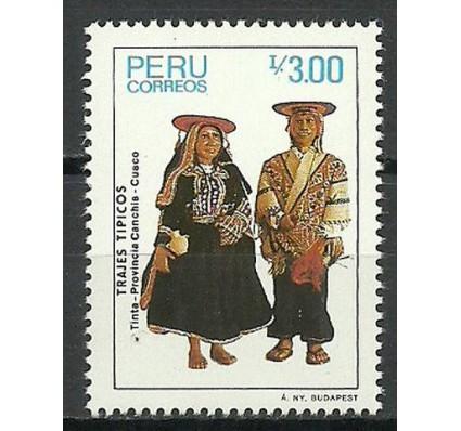 Znaczek Peru 1986 Mi 1331 Czyste **