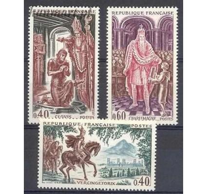 Francja 1966 Mi 1560-1562 Czyste **