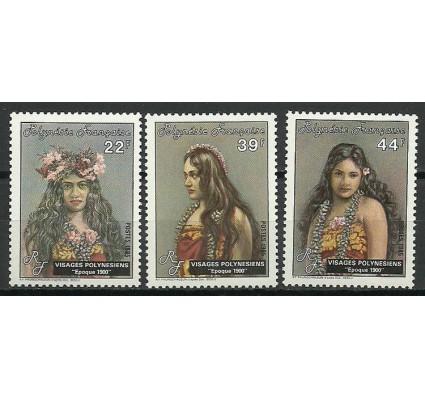 Znaczek Polinezja Francuska 1985 Mi 421-423 Czyste **