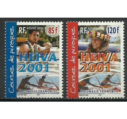 Znaczek Polinezja Francuska 2001 Mi 846-847 Czyste **
