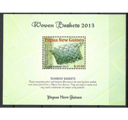 Znaczek Papua Nowa Gwinea 2013 Mi bl 165 Czyste **