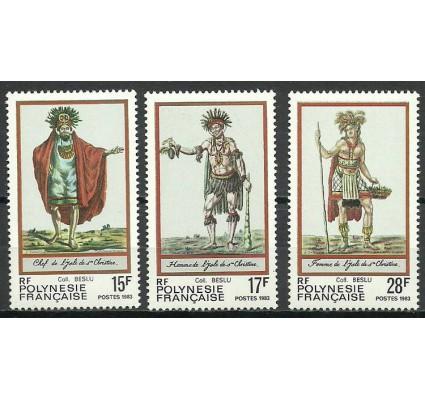 Znaczek Polinezja Francuska 1983 Mi 381-383 Czyste **