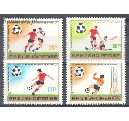 Znaczek Albania 1981 Mi 2080-2083 Czyste **