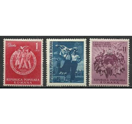 Znaczek Rumunia 1951 Mi 1264-1266 Z podlepką *