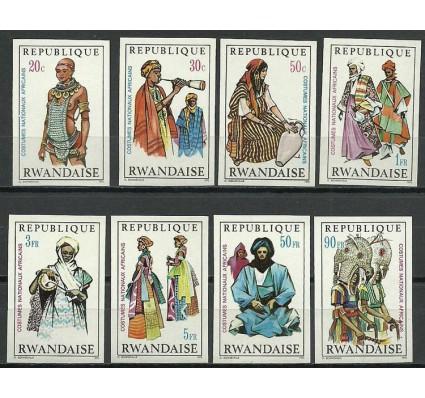 Znaczek Rwanda 1970 Mi 376-383B Czyste **