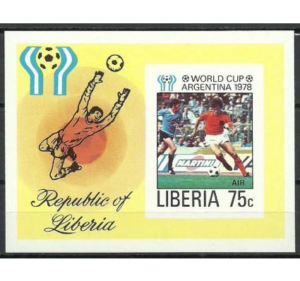 Znaczek Liberia 1978 Mi bl 90B Czyste **
