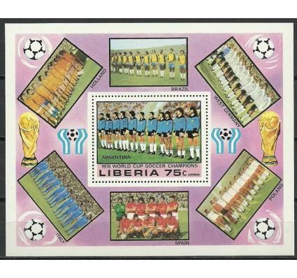 Znaczek Liberia 1978 Mi bl 92A Czyste **