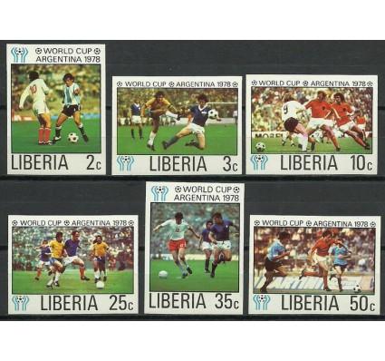 Znaczek Liberia 1978 Mi 1075-1080B Czyste **