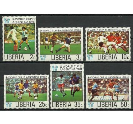 Znaczek Liberia 1978 Mi 1075-1080 Czyste **