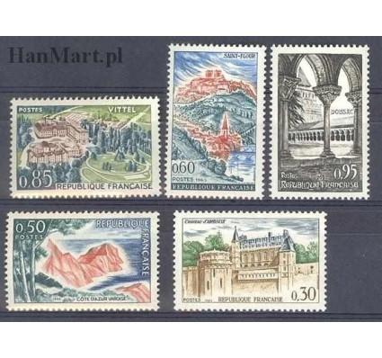 Znaczek Francja 1963 Mi 1444-1448 Czyste **
